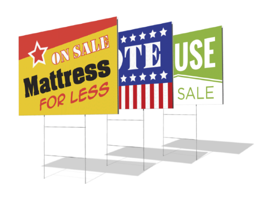 Blank Yard Signs Cheap Blank Signs Cheap Yard Signs